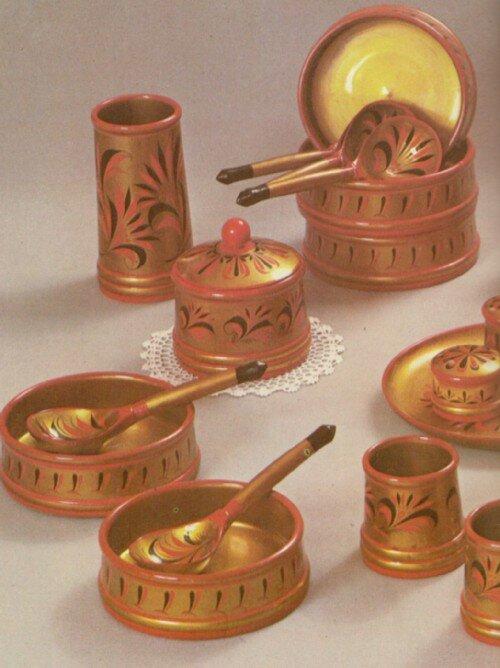Посуда, утварь и обычаи Русского стола