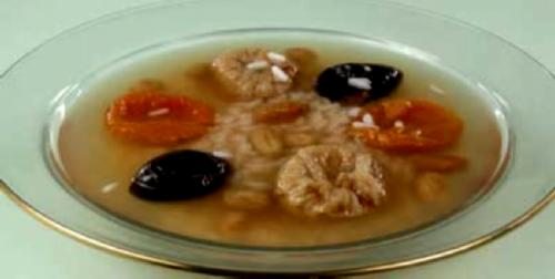 Суп из сухих фруктов