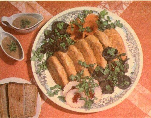 Блюда с красной рыбой на ужин
