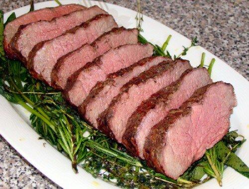 Ростбиф из свинины рецепт с фото
