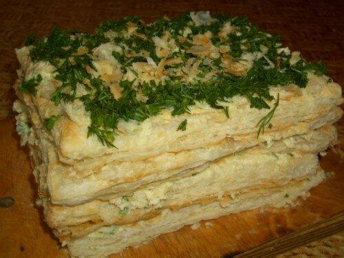 Слоеный торт В гостях у лесничего