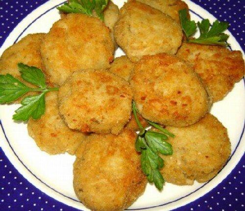 Крокеты из индейки с картофелем