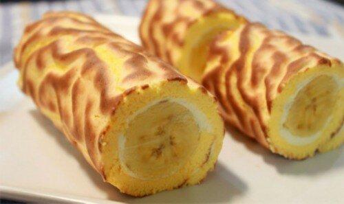 Рулет Банановый