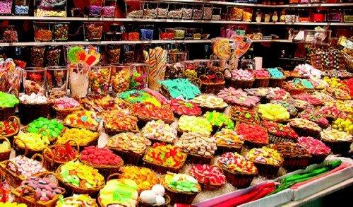 История сладостей