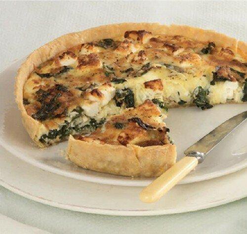 Пирог с сыром и ботвой 1