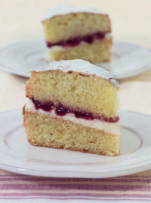 Торт с вареньем д