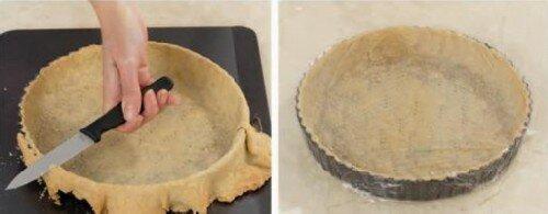 Швейцарский пирог с ботвой и сыром 1