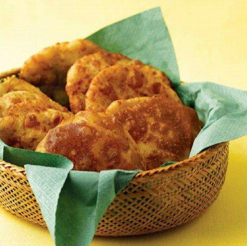 Жареные картофельные лепешки