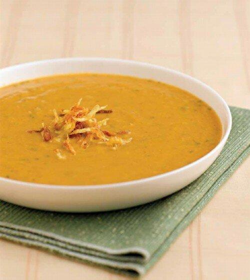 Картофельно луковый суп